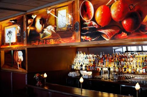 The bar at Zero Zero, which was just taken off Bauer's Top 100 list.
