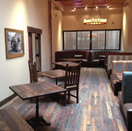 """The almost finished, """"semi-private"""" dining room will become part of the main dining area on busy nights."""