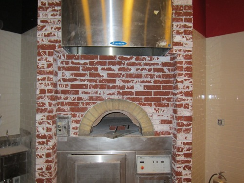 The Slice of Vegas pizza oven.