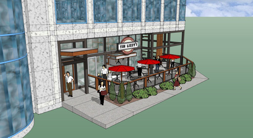 A rendering of the upcoming Tin Lizzy's in Perimeter.