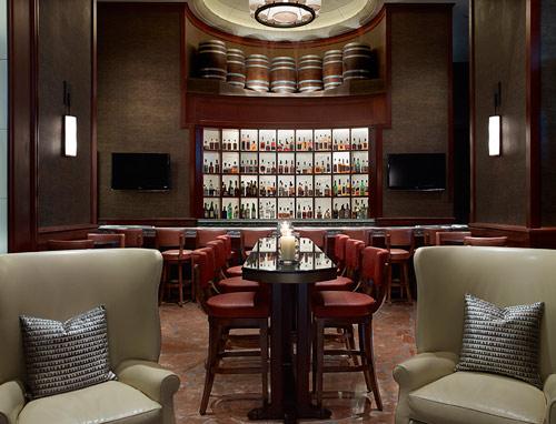 Bourbon Bar. Photo by David Phelps Photography.