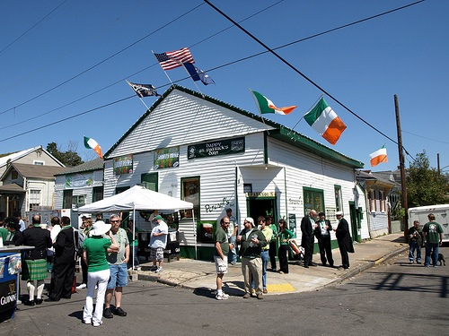 St Patrick's Day at Parasol's.