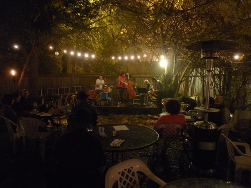 Live music at Bacchanal Wine.