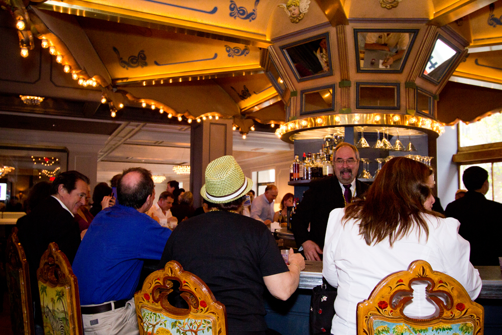 The Carousel Bar at the Hotel Monteleone.
