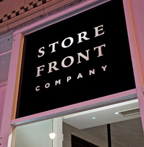 Welcome to Storefront Company