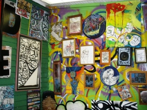 First Friday adds more spots to drink and look at art like this.