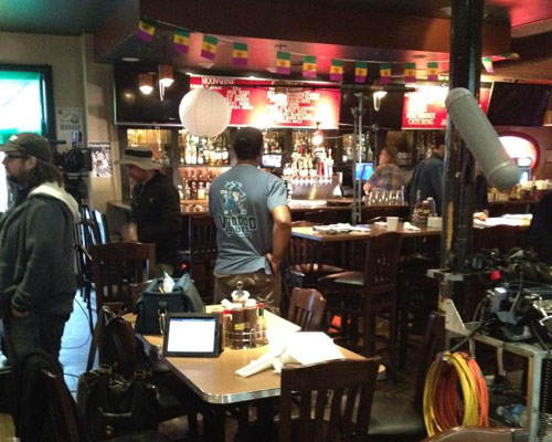 The Bar at DBA Barbecue.