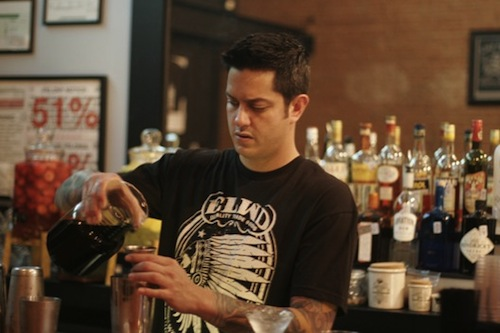 Gabe Sanchez of Black Swan Saloon.