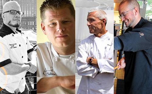 Mark DeNittis, Alex Seidel, Mark Fischer, Eric Rivera