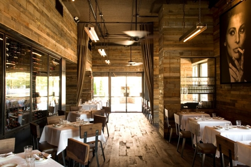 The dining room at Barcelona Wine Bar.
