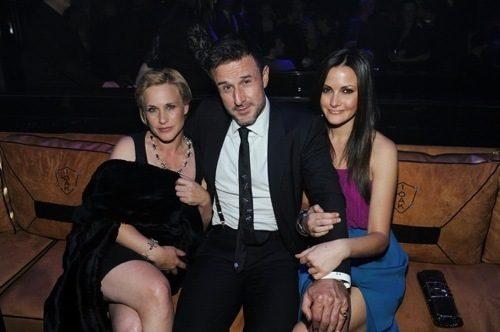 Patricia Arquette, David Arquette and Christina McLarty at 1 OAK.