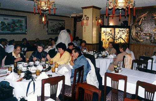 Chinatown restaurant c. 1999.