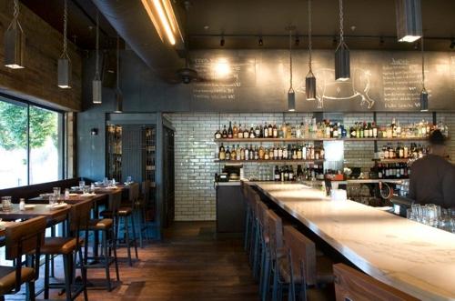 The bar at Barcelona Wine Bar.