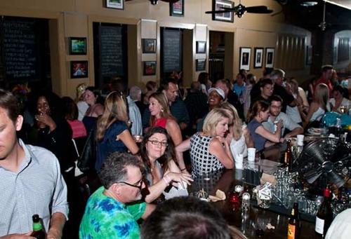 The bar at Rosebud.