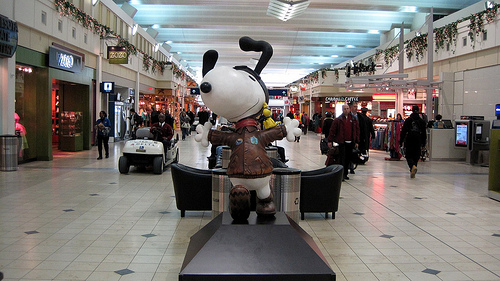 Snoopy welcomes you to Minnesota.