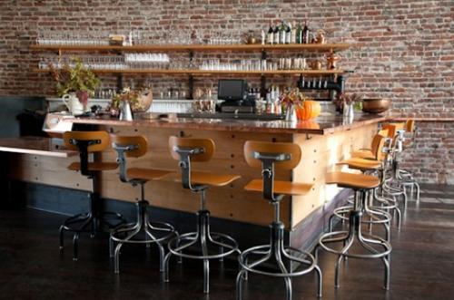 The bar at AQ.