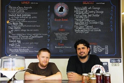 John Bates & Brandon Martinez of The Noble Pig