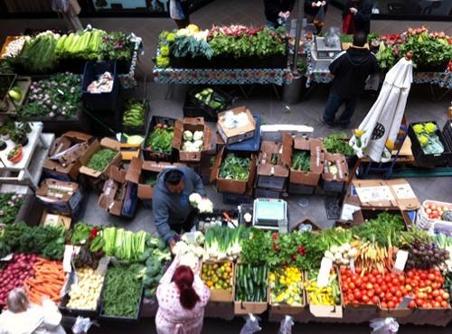 Croker Galleria farmers market.