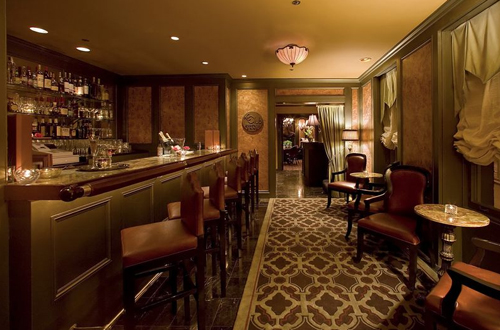 The bar area at former tenant, Le Club.
