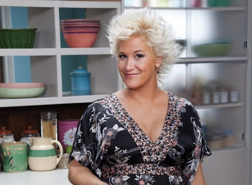Chef Anne Burrell will be here next month.