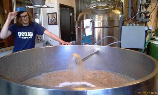 Elysian brewmaster Steve Luke