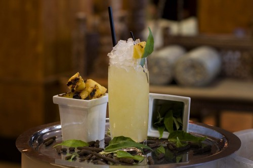Junoon's Tandoori Tequila cocktail, photo by Johan Olander.