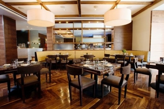 The dining room at The BLT Steak.