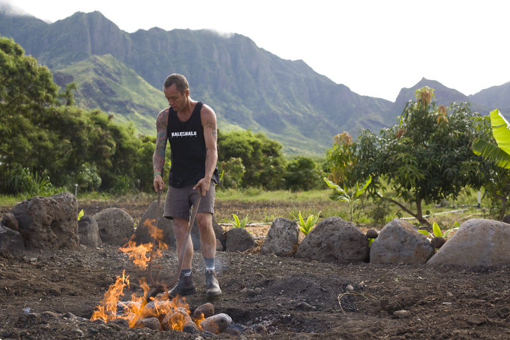 Whole Animals Cooked in a Pit: A Traditional Hawaiian Imu