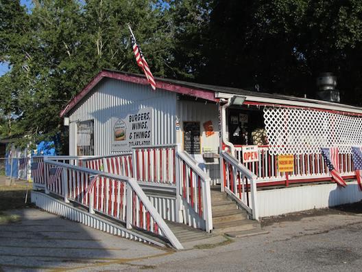 Little Bitty Burger Barn.