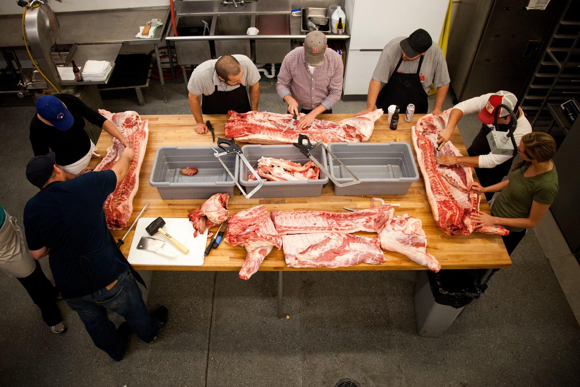 How Wisconsin's Underground Food Collective Is Open-Sourcing Their Meat Expertise
