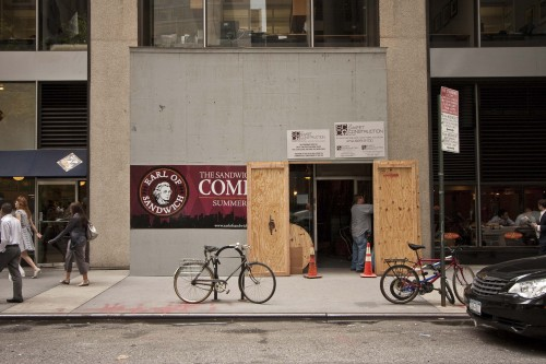 Earl of Sandwich coming to 52nd near 6th Ave.
