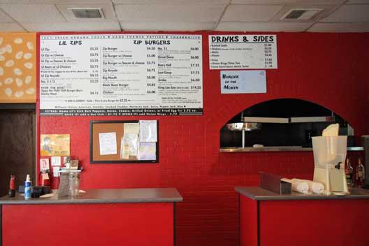 Zippy's Giant Burgers' new location.