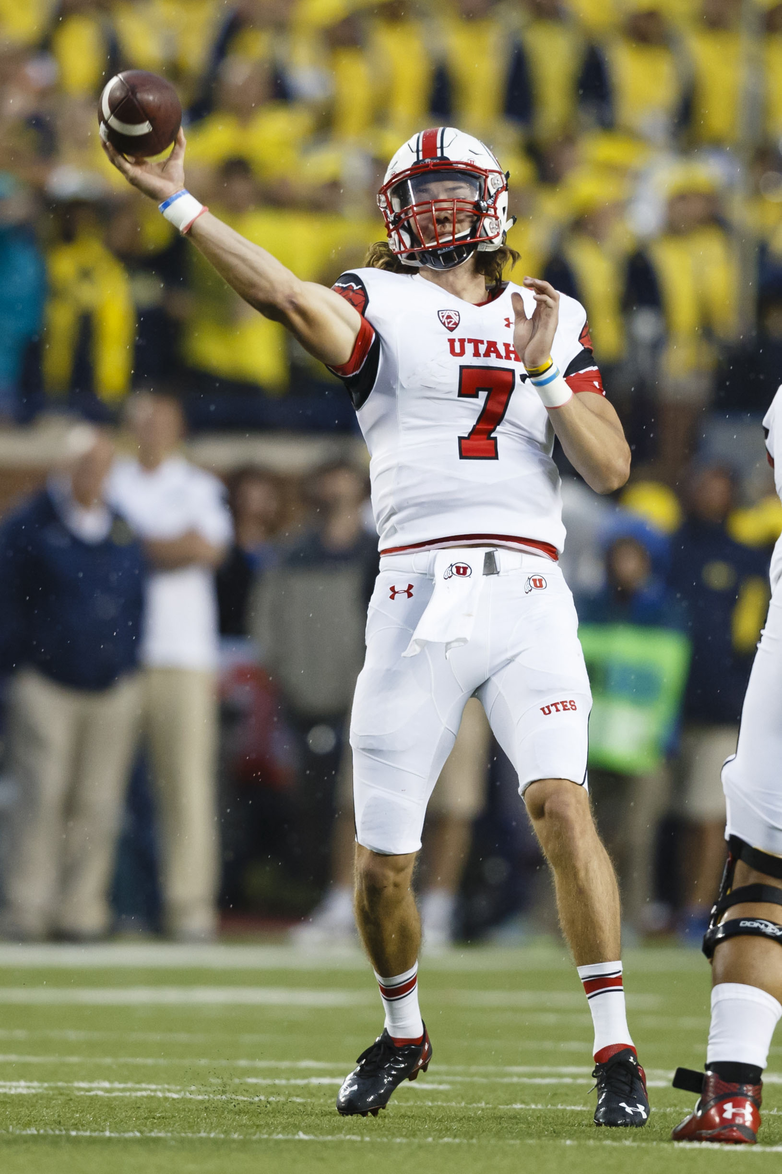Utah quarterback Travis Wilson stuffed for the rest of the season any controversy at his position, leading the Utes to victory over Michigan.