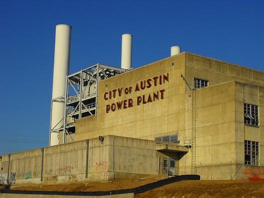 Seaholm Power Plant.