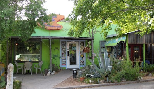 The old Bouldin Creek Coffeehouse.