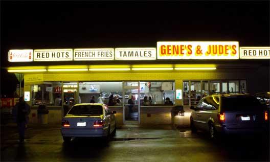 Gene & Jude's in River Grove