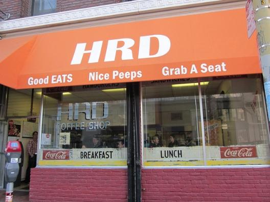 HRD Coffee Shop.