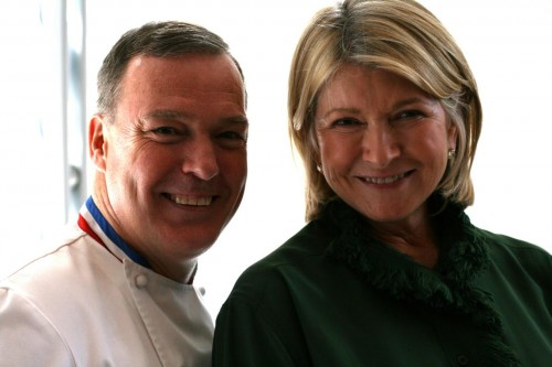 Jacques Torres and Martha Stewart