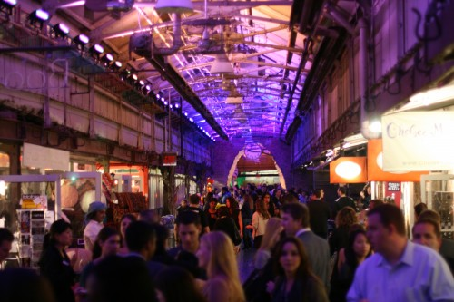 chelsea market after dark