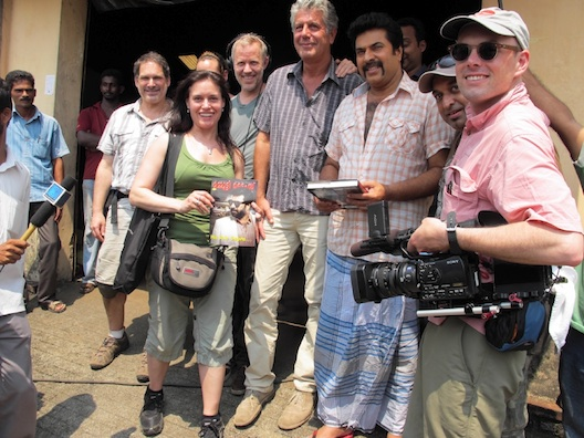 All of these people helped to bring you the Kerala episode of No Reservations.