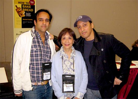 Today's Special producer Nimitt Mankad; Madhur Jaffray; and Aasif Mandvi