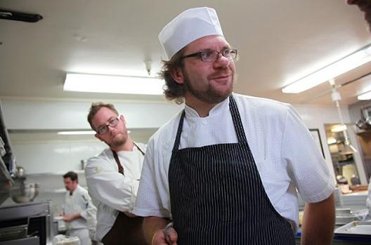 LA's Michael Cimarusti in the kitchen.