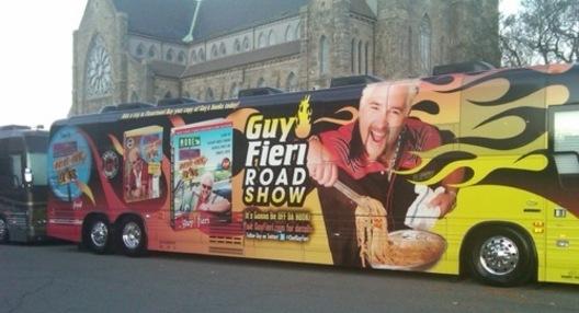 Guy Fieri's Bus 'o' Flames