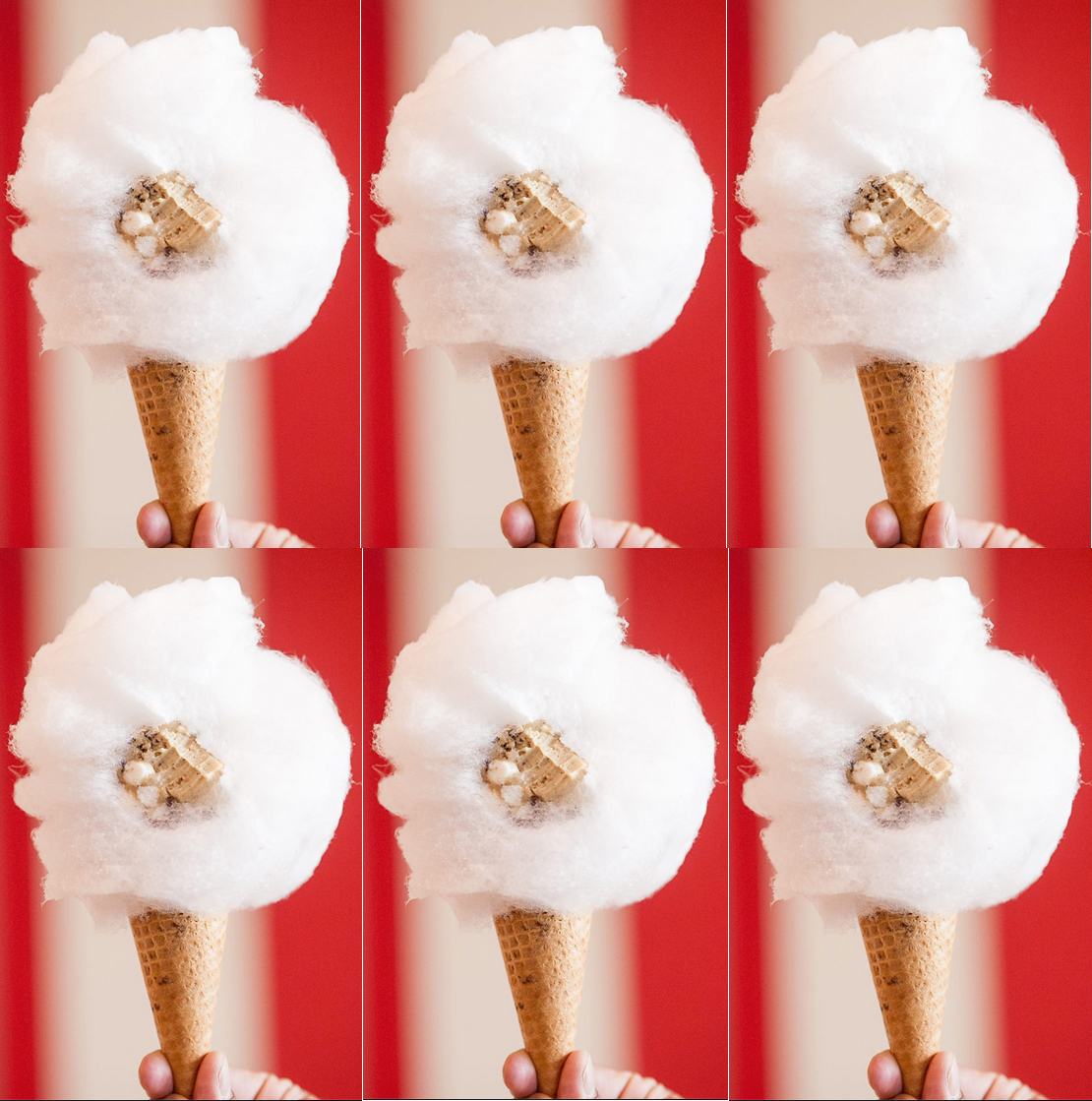Brooklyn Ice Cream Shop Introduces Ingenious 'Cotton Candy Cone'