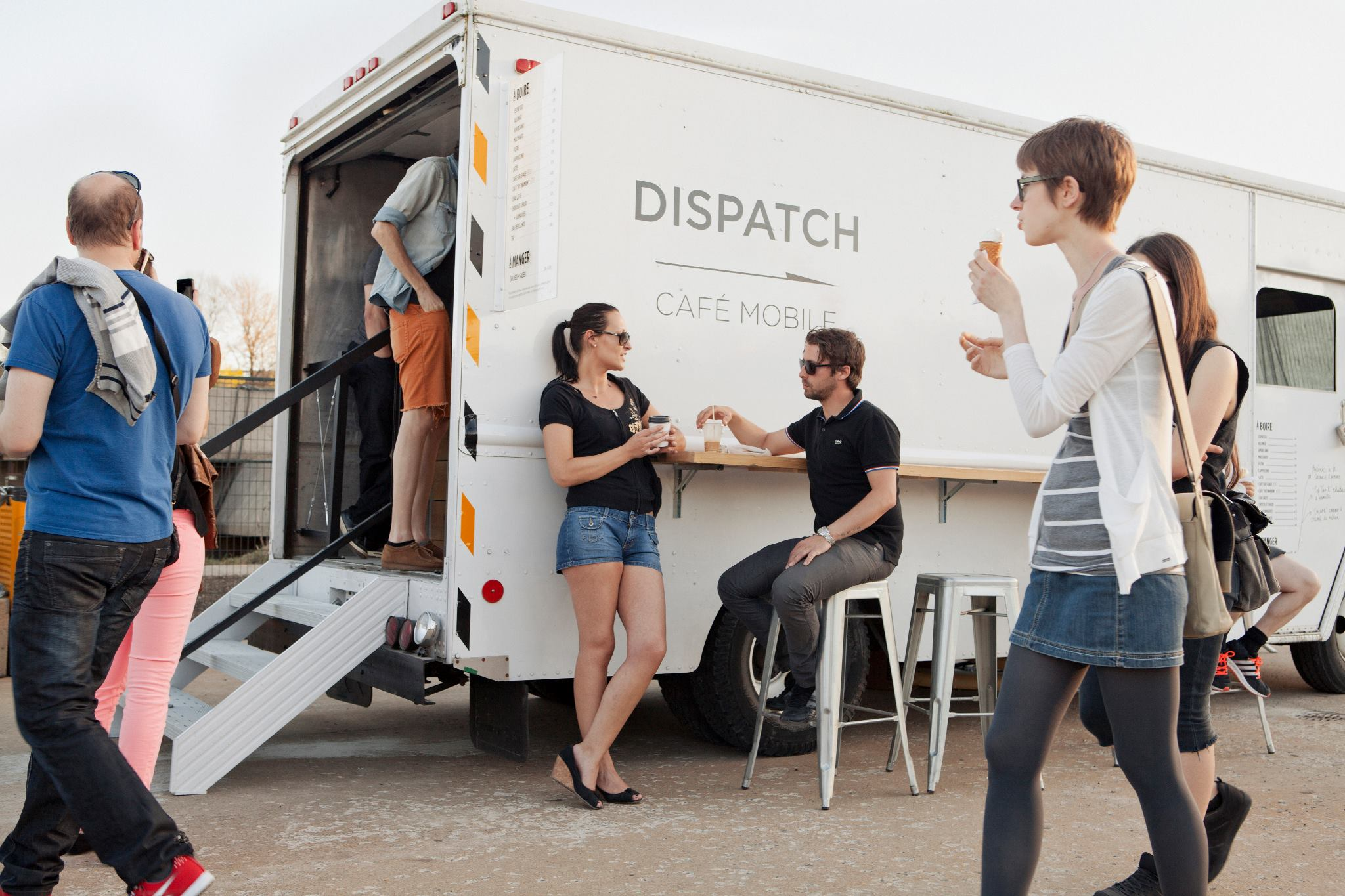 Dispatch mobile coffee truck