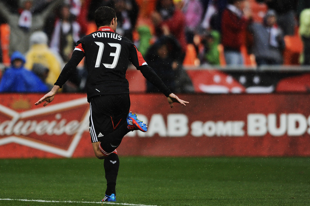 Chris Pontius was named to MLS's 2012 Best XI today.