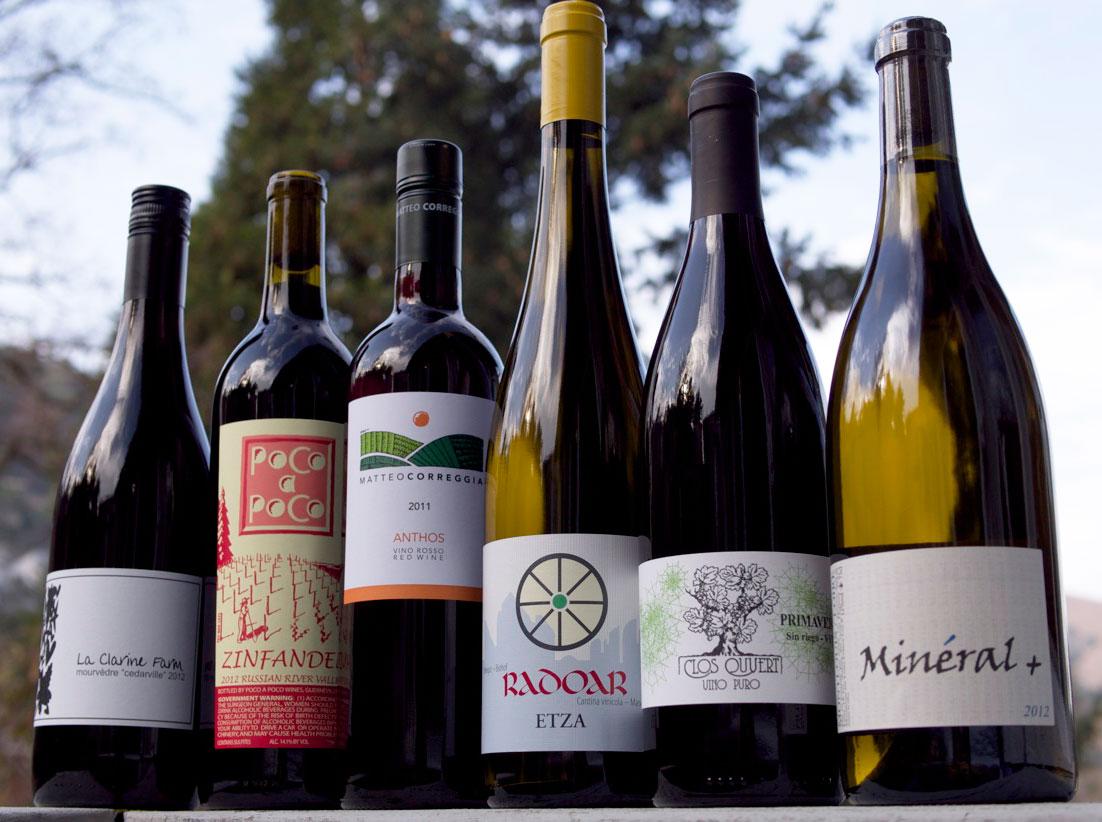 Some of Winelandia's offerings.