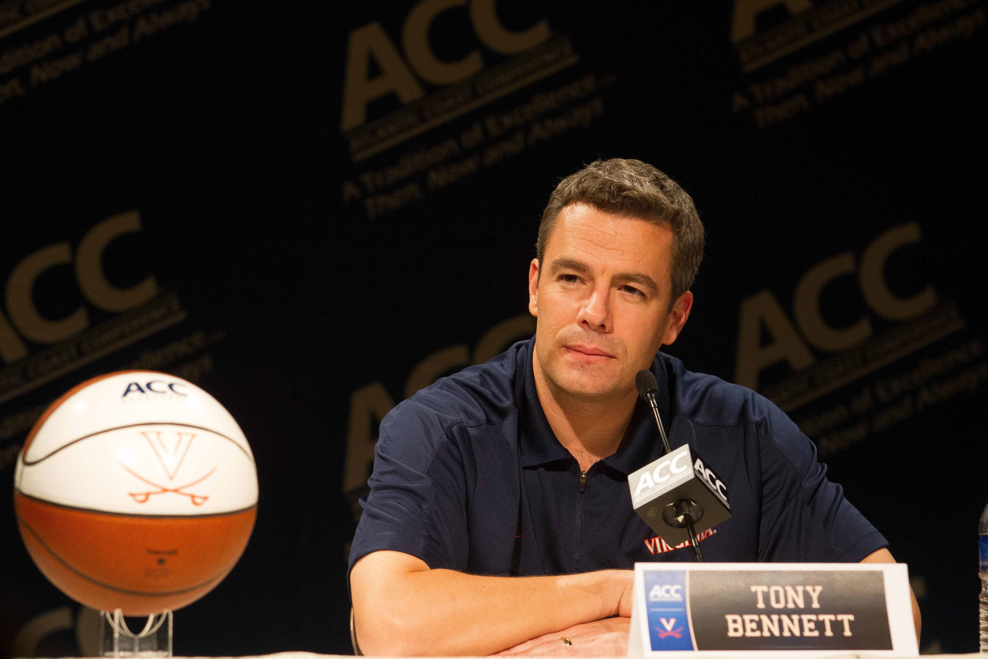 Tony Bennett returns to his homeland for the first time as the Virginia head coach.
