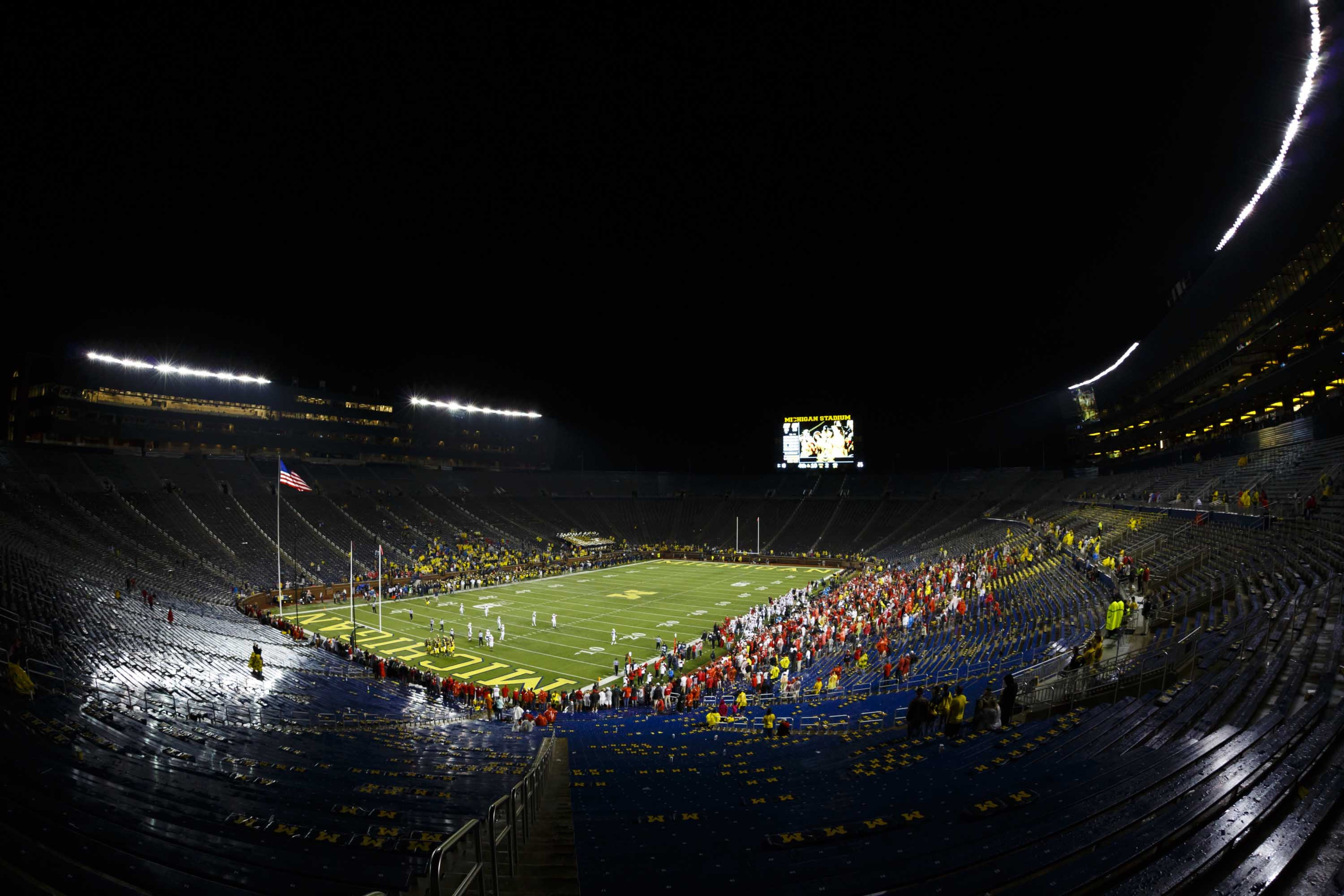 Ute Fans Took Over Michigan Stadium In The Fourth Quarter Of Their Win Last Week