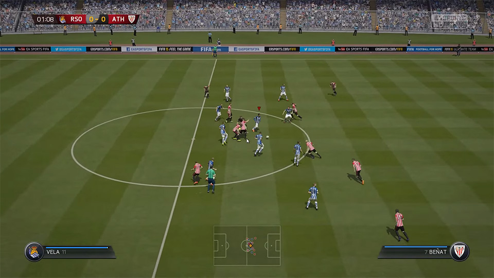 FIFA 15 bug turns soccer into a farce (update)